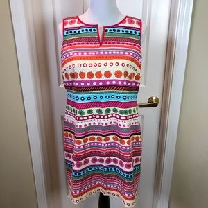 Talbots | Shift Dress, Multicolored, Sz 12P